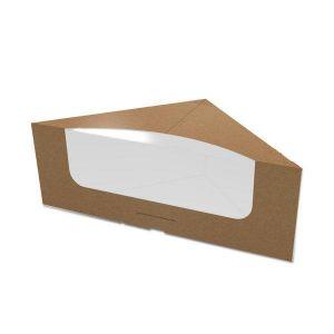 Упаковка картонна для сендвічів КРАФТ 25 шт