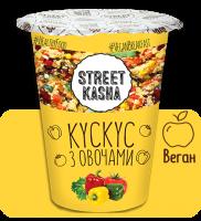Каша Street Kasha Кускус с овощами 50 г стакан