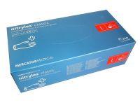 Перчатки одноразовые нитриловые синие NITRYLEX 100 шт S,M,L,XL