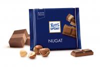 Шоколад RITTER SPORT Nugat  з пралиновою начинкою  100 г