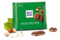 Шоколад RITTER SPORT Nuss-Splitter Лісовий горіх 100 г