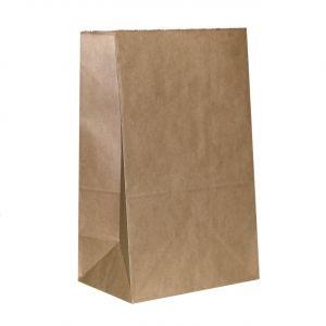 Пакет бумажный без ручек 120х85х250 Крафт 50 шт