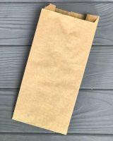 Пакет бумажный саше 210*100*30 мм 40г/м2 КРАФТ 100 шт