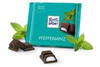 Шоколад RITTER SPORT Pfefferminz М'ята 100 г