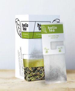 Чай зелений пакетований Hello Tea Ті Гуань Інь 20 шт