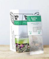 Чай зеленый пакетированный Hello Tea Зеленая Мята 20 шт