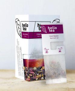 Чай фруктовий пакетований Hello Tea Глінтвейн 20 шт
