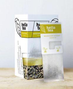 Чай зеленый пакетированный Hello Tea Молочный Оолонг 20 шт