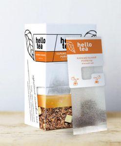 Чай етнічний пакетований Hello Tea Карамельний Ройбуш 20 шт