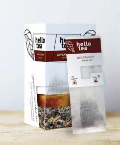 Чай чорний пакетований Hello Tea Дарджилінг 20 шт