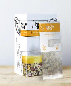 Чай травяной пакетированный Hello Tea Альпийский Луг 20 шт