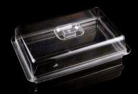 Подставка для торта с крышкой акрил 320*225*90 мм