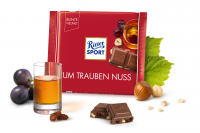 Шоколад RITTER SPORT Rum Trauben Nuss Ром Родзинки Горіх 100 г
