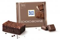 Шоколад RITTER SPORT Schoko-Brownie Шоколадный Брауни 100 г