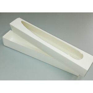 Упаковка картонна для макарунов біла 10 шт
