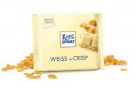 Шоколад RITTER SPORT Weiss+Crisp Білий шоколад з пластівцями 100 г