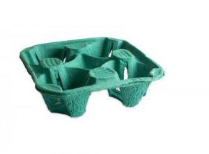 Тримач для 4-х стаканів зелений